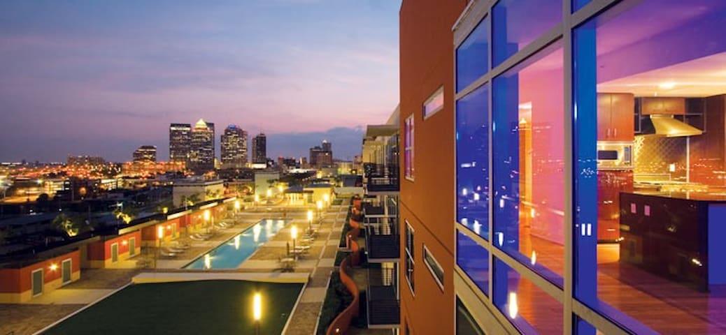 Style & Luxury in Vibrant Channelside - Tampa - Condominio