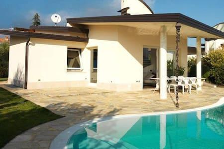 Villa con piscina e giardino privato - Lake Garda - San Felice del Benaco