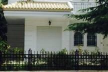 front/entrance