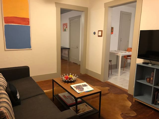 Heights Carriage House Apartment