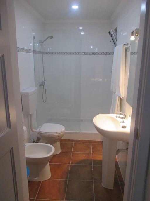 Casa de banho do quarto 2