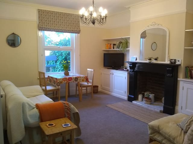 Cosy and peaceful Victorian flat in old Hereford