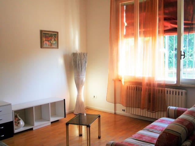 Affascinante appartamento con ingresso indipendent - Ferrara - Hus