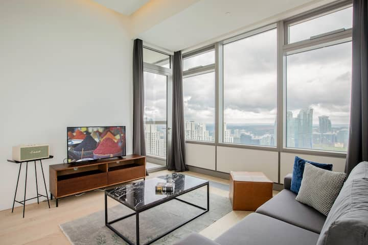 Sumptuous 2BR at 42 Maslak with Pool & City View