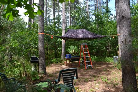 "The Stargazer-Tree Tent- An ""In-Tents"" Experience!"
