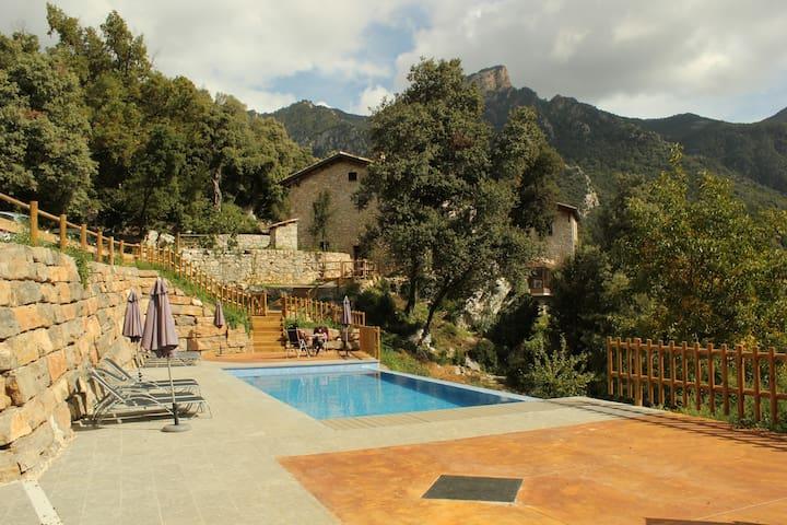 La Balconada Viladomat rural La Nou