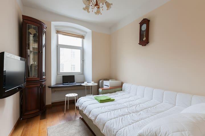 This apartment is next to the Kremlin 5 min metro