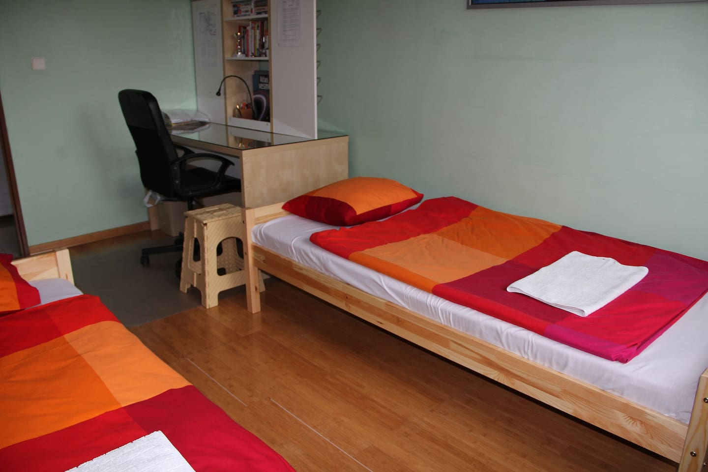 Nice private room 18 m2 for two or three people