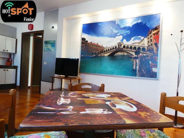 Hotspot to Venice,  #EL FULVIA