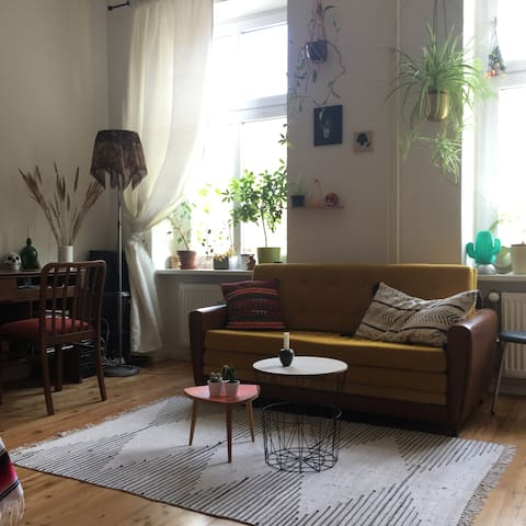 Bright&cozy apartment in Kreuzberg, close to canal - Berlin - Apartment