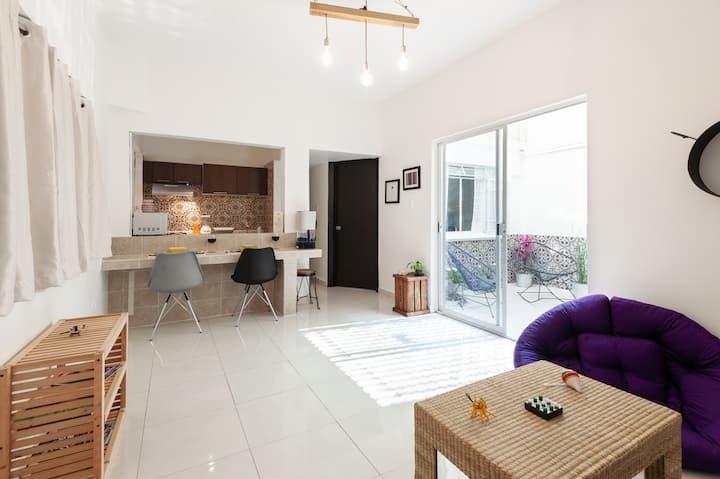 Bonito apartamento - Patio Reforma