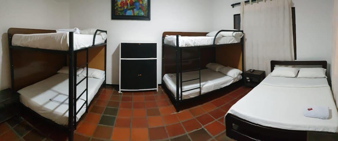 Nice multiple room.