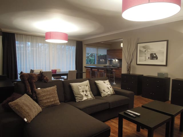 Two Bedrooms Apartment & Terrace - Uccle - Apartament