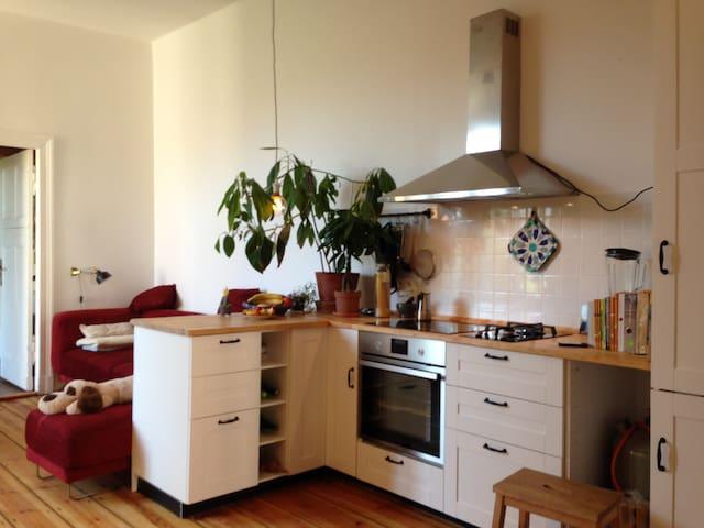Helle, schön eingerichtete Wohnung in Berlin - 柏林 - 公寓