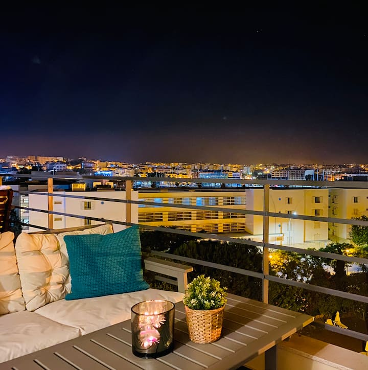 Beautiful apartment with great view
