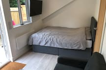 Private  new self contained studio flat