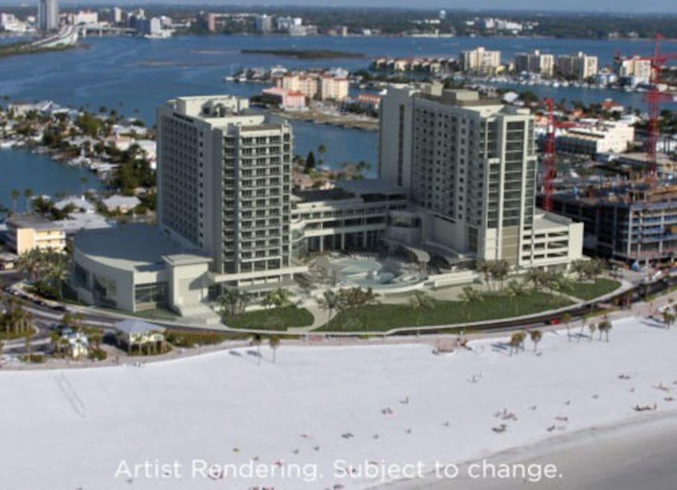 Beach Resort 2 BR Rental Wyndham Clearwater Beach - Resorts for Rent ...