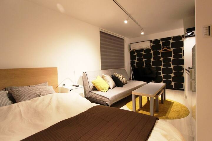 ①5min Juso Sta/3min Umeda/FreeWiFi/fully renovated