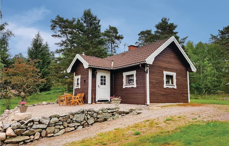 Holiday cottage with 1 bedroom on 34 m² in Åmål
