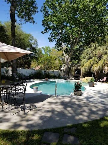 Pool Side Garden Cottage