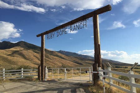 Ruby Dome Ranch Guest House Lamoille, NV.