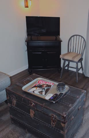 If you want to spend an evening in, you can watch local TV or sign into any channel on the Roku using your own login.