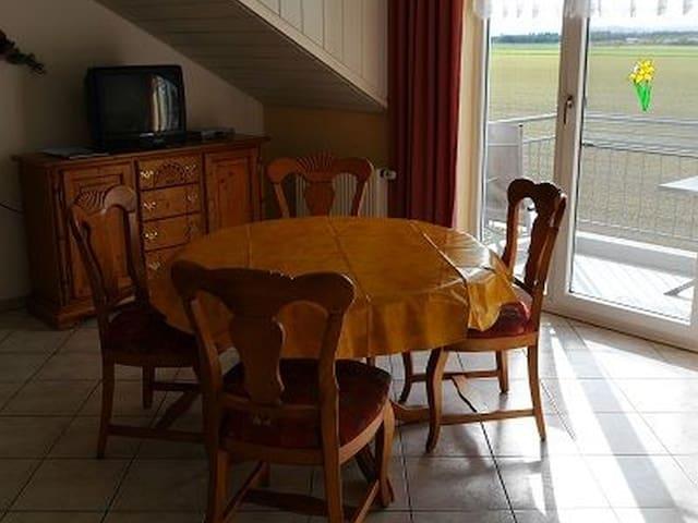 Ferienwohnungen Lang, (Breisach-Niederrimsingen), Ferienwohnung Vogesenblick, 50qm, 1 Schlafzimmer, max. 2 Personen