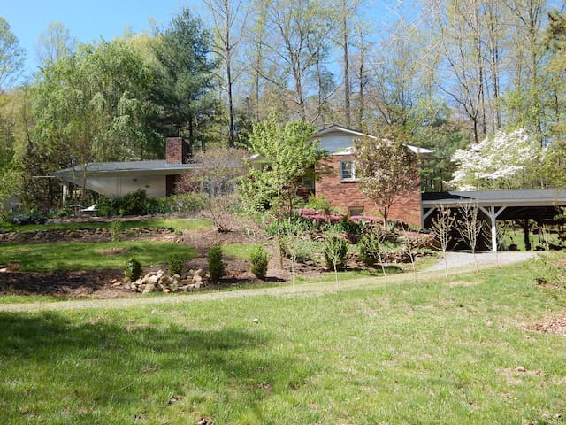 Country setting close to city vibe! - Swannanoa - Apartment