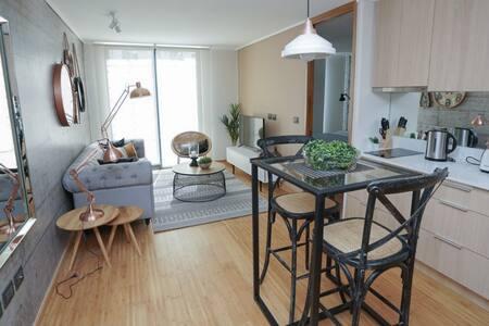 Moderno y cómodo Apartamento, Barrio Las Condes
