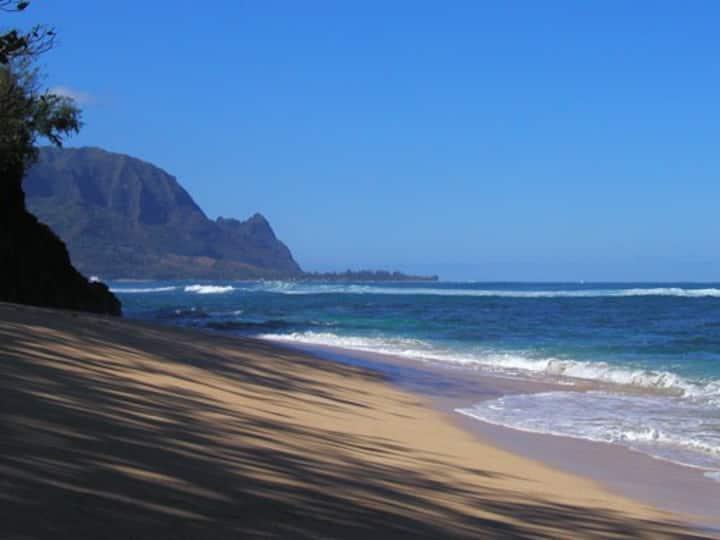 Kauai Luxurious W/AC Oceanfront Puu Poa Condo!!!