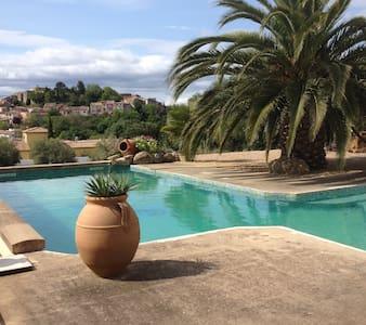 les olivades,villa avec piscine - Magalas