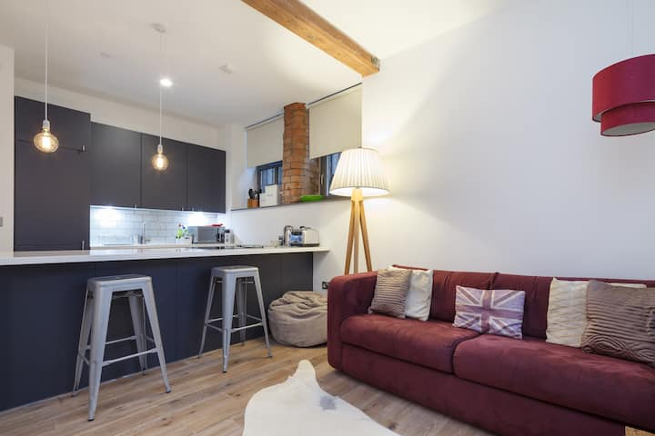 Luxury apartment in heart of the Northern Quarter