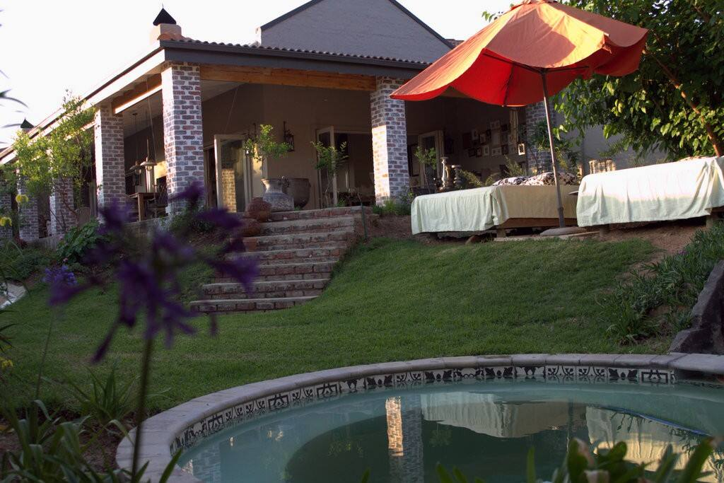 Your private garden and pool for your exclusive use