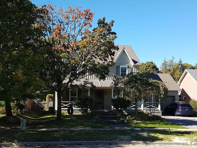 Treed Oasis in Mature Subdivision.