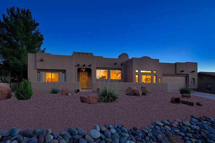 *SANITIZED* Casa Concho ~ Escape to Relax Home with Sedona Red Rock Views