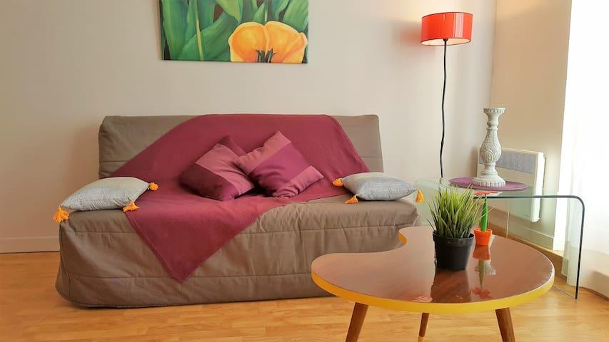 App Le Bienvenu Centre Ville Bayeux rue Principale - Bayeux - Apartment