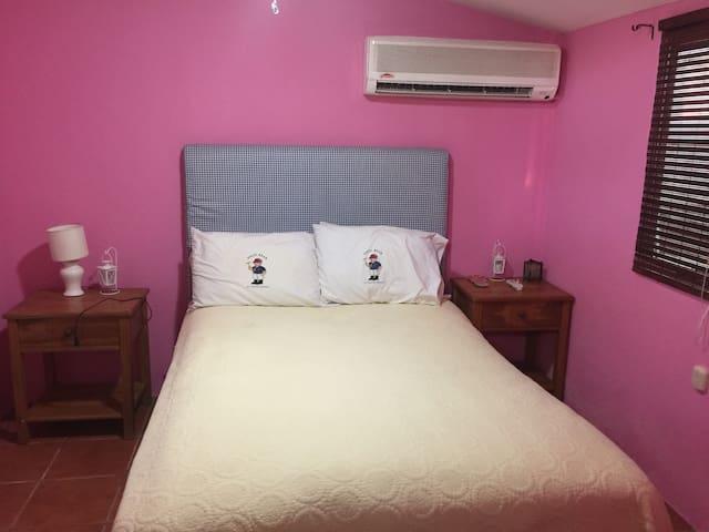 Private Bungalow Bedroom -Las Sevillanas (Room#10)