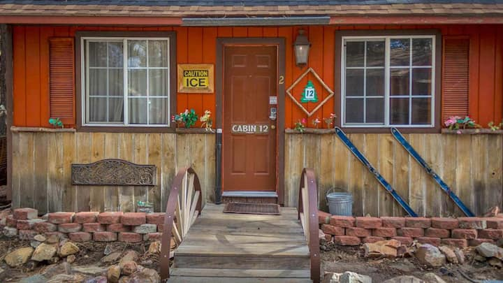 #12, Camping Cabins 4 Less, No Fees for 2 to 4