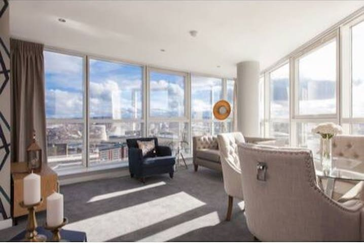 Beautiful Belfast apartment in the Obel Tower.