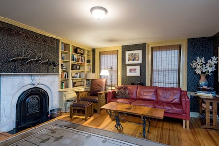 1874 townhouse near Capitol, colleges, Albany Med - Casa a schiera