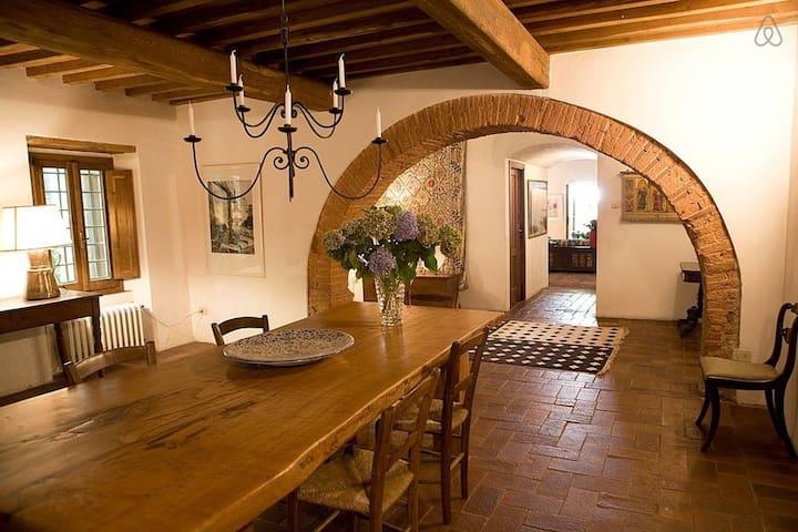 Beautifully Restored Tuscan Mill