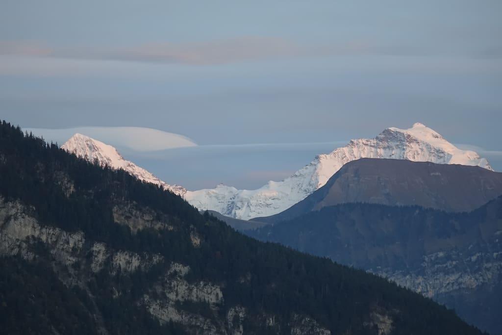Mönch, Jungfrau