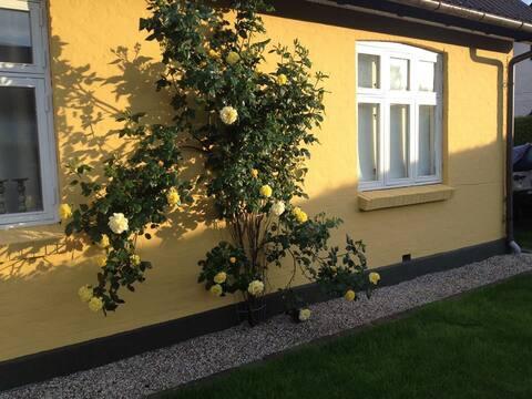 Söpö ja romanttinen skandinaavinen talo