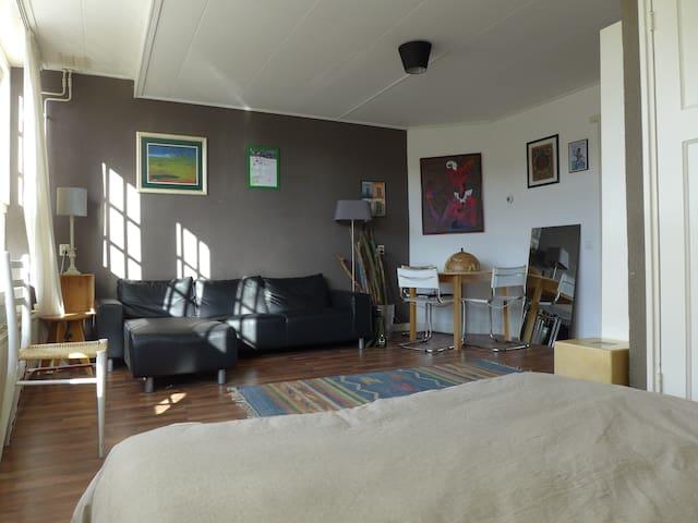 Sunny spacious apartment close to center
