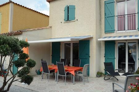 Villa 80 m2 pour 6 personnes, à 300 m de la plage - Narbonne