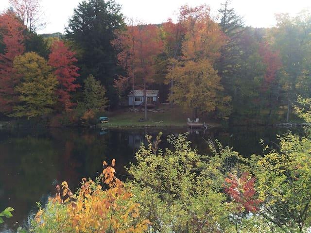 Beautiful lake cottage close to Okemo Mt skiing