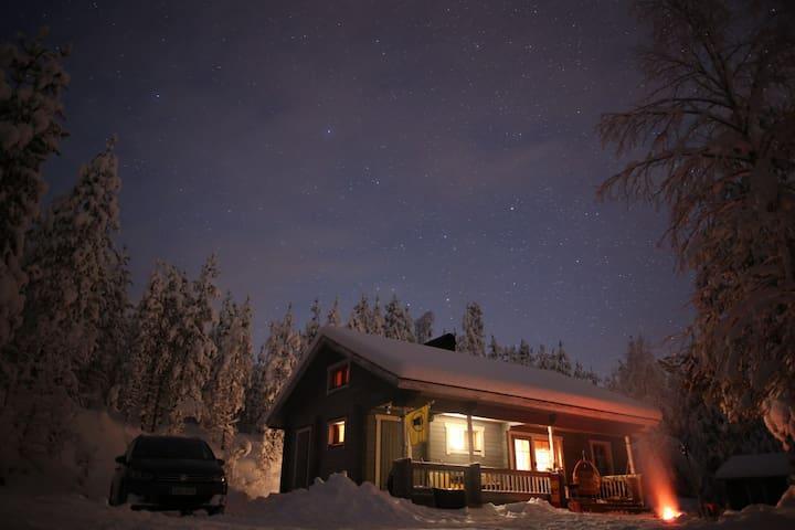 Kimppa 2  / Kimppa-cabin 2 / Дом в лесу у озера 2