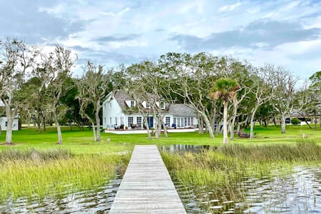 Waterfront Home on private Island with dock