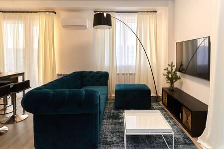 Modern bright Apartment  in Vladivostok