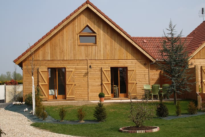 Charme du chalet en bois entre Etretat et Honfleur - Épretot